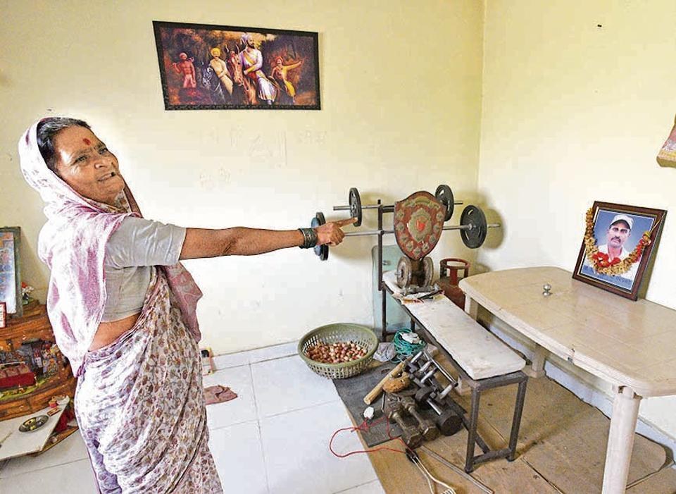 Janabai Phatangale mother of Rahul Phatangale  still morns her son at her residence in Sanaawaadi. Rahul Phatangale his life last year during riots at Koregaon Bhima in Pune