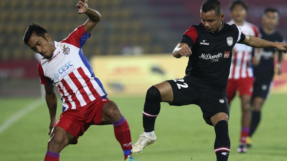 NorthEast United,ATK,Indian Super League