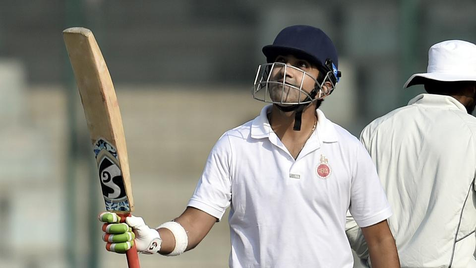 Ranji Trophy,Gautam Gambhir,Ranji