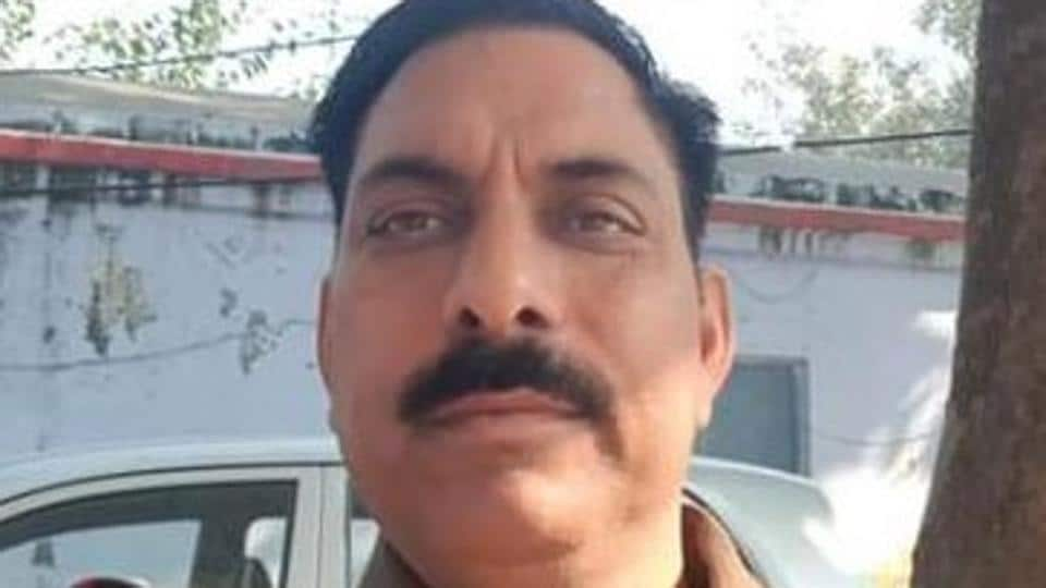 Subodh Kumar Singh, the police station house officer who was killed in Bulandshahr violence on December 03, 2018.