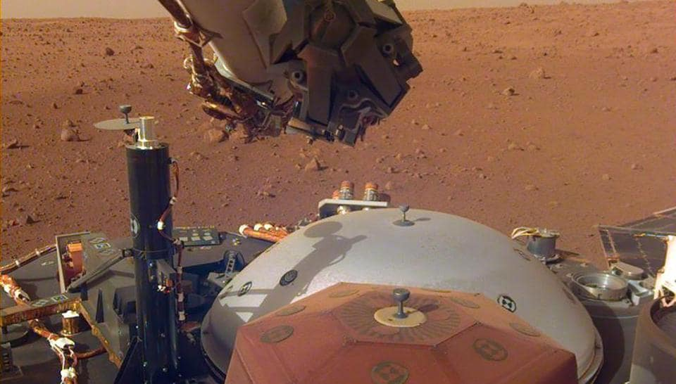 NASA,InSight,Mars