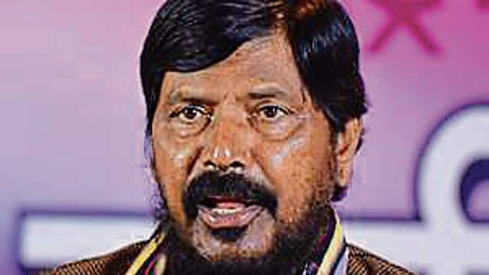 Ramdas Athawale,slap,party worker