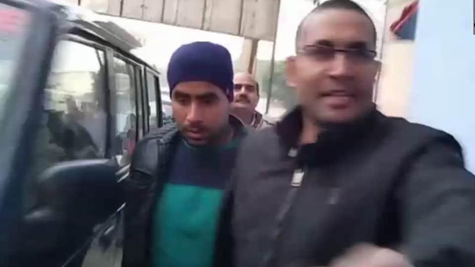 Jeetendra Malik alias Jeetu Fauji was arrested late on Saturday. A local court in Bulandshahr sent him into 14-day judicial custody.