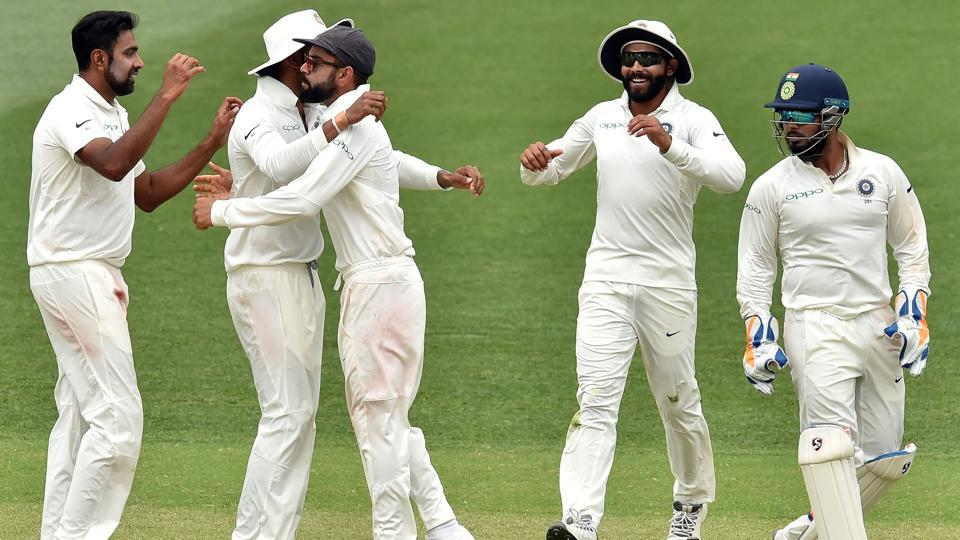 India Beat Australia In Adelaide Test End 10 Year Win