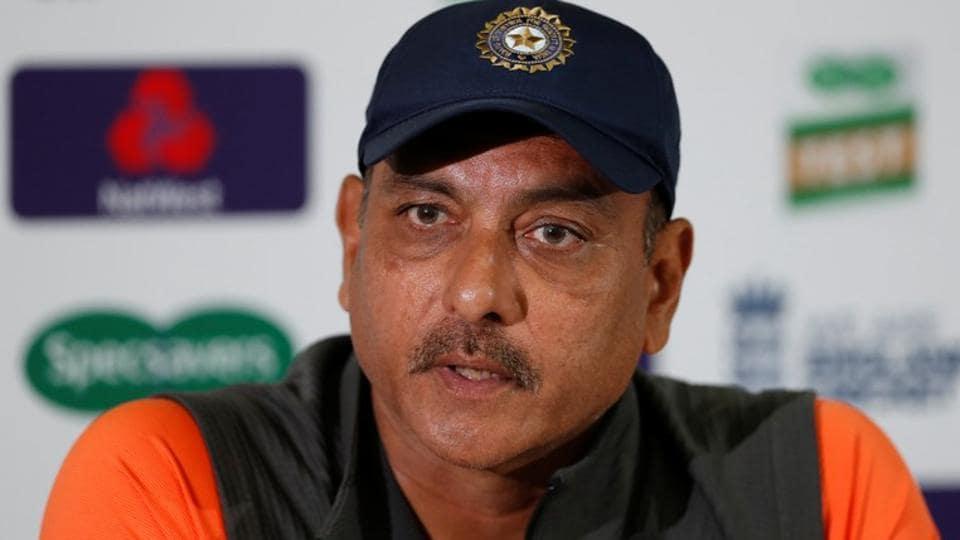 Indian cricket team coach Ravi Shastri.