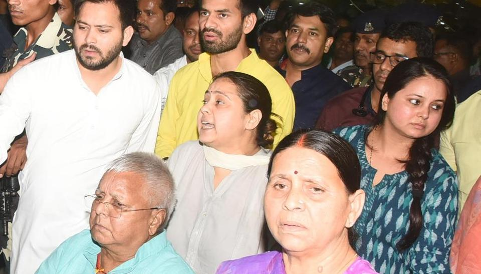 Of RJD's first family, sibling rivalry and its growing political