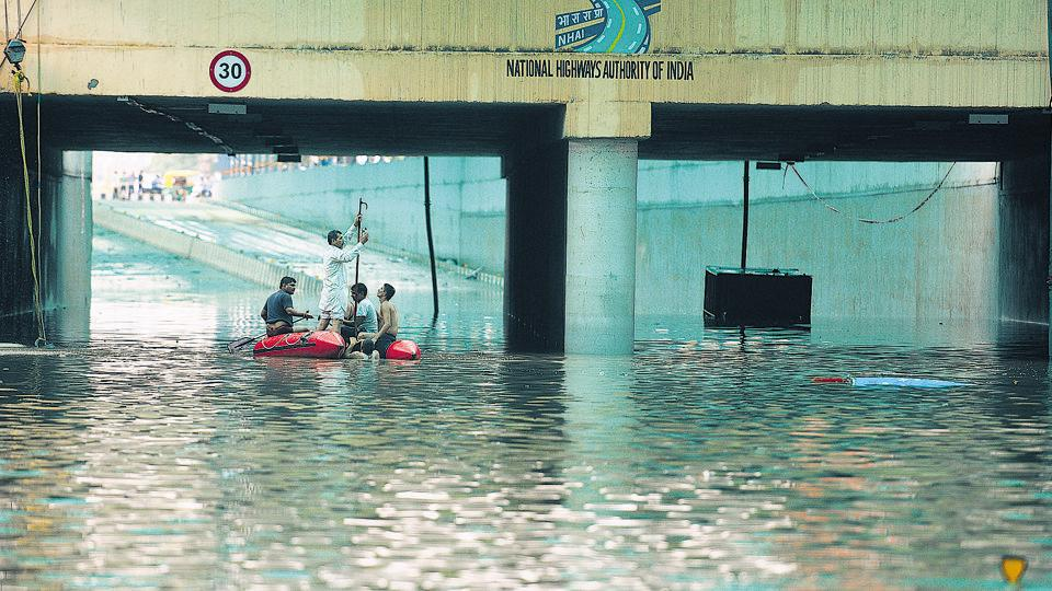 After heavy rains on August 28, the Hero Honda Chowk underpass in Gurugram  had to be shut for 50 hours as it was submerged under 50 million litres of run-off rainwater.