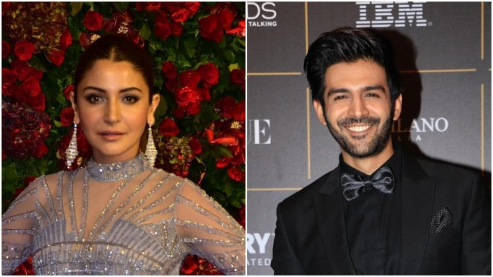 Anushka Sharma and Kartik Aaryan have been voted the hottest vegetarians.