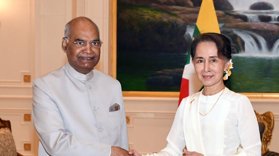 India,Myanmar,U Win Myint