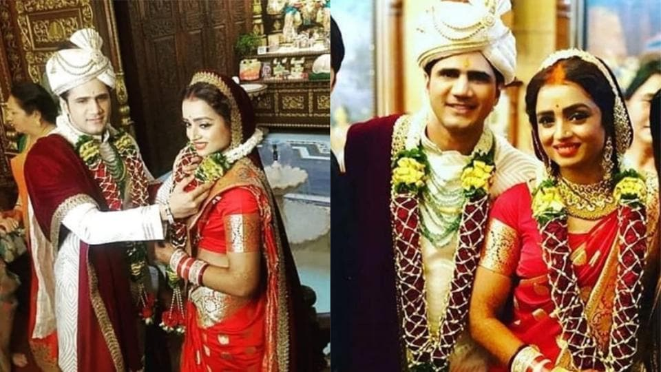 Parul Chauhan & Chirag Thakkar Are Officially Married: First Pics Of Bride -Groom