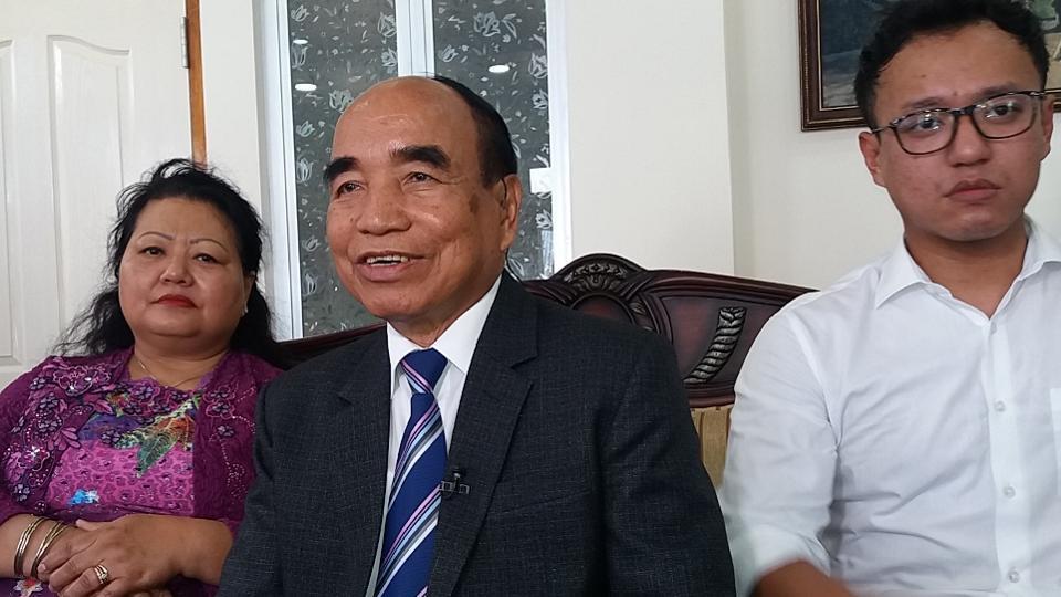 Mizo National Front president Zoramthanga is set to reurn as Mizoram CM