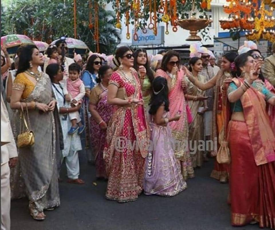 Isha Ambani Wedding Udaipur: Isha Ambani Wedding Highlights: Check Out First Pics Of
