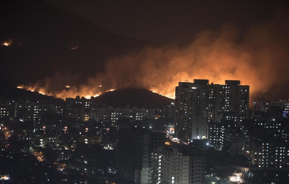 On December 3, a fire broke out at 6.21pm behind New Mhada Colony at Goregaon (East) and took almost 14 hours to be completely doused.