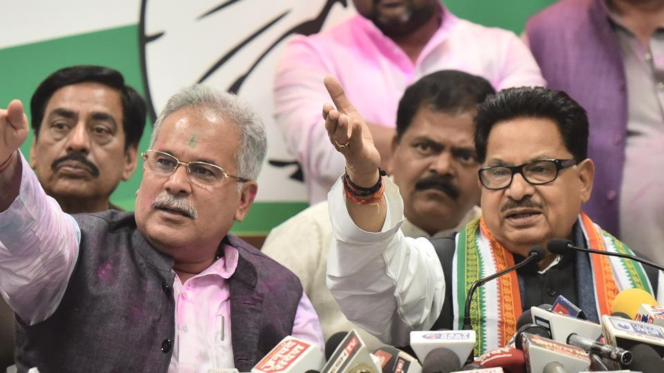 Chhattisgarh Cong chief Bhupesh Baghel credits Rahul Gandhi for poll  win
