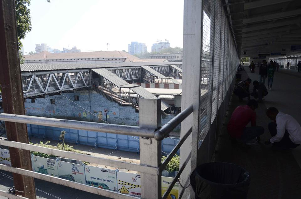 Pune,Pune railway division,subways