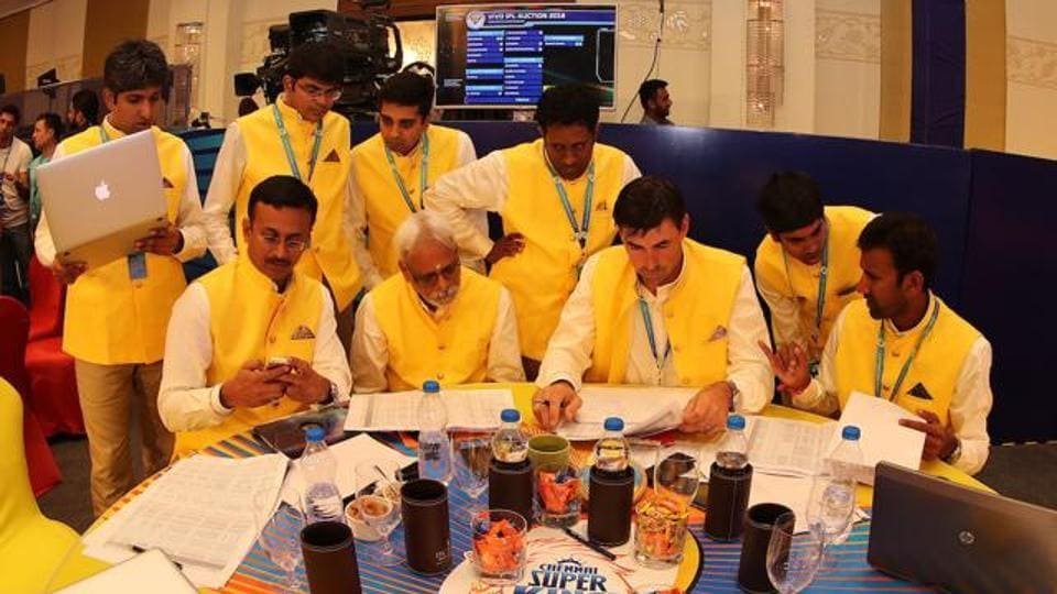 File image of the IPLauction.