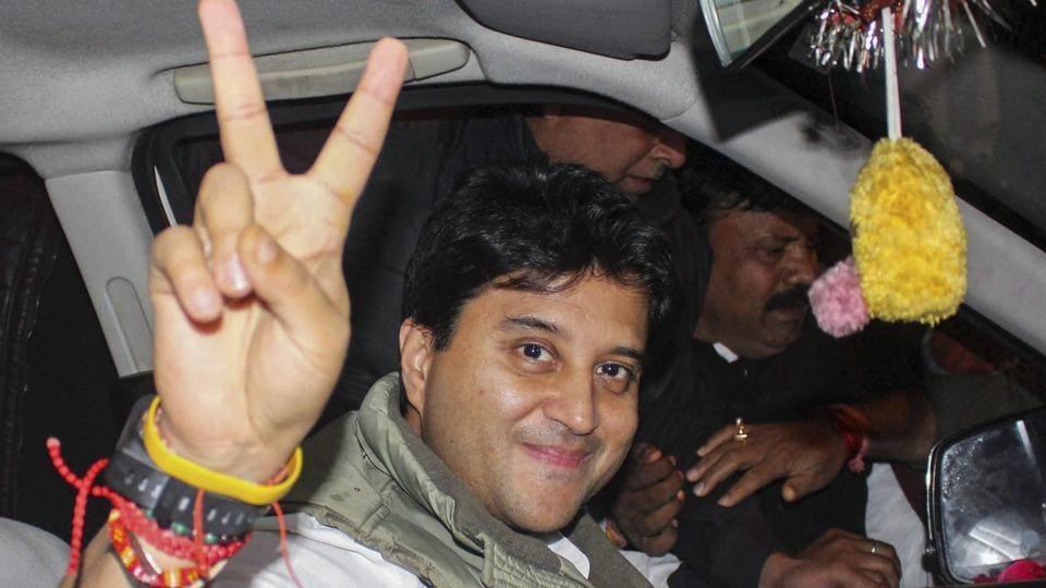 On BJP's barb, Jyotiraditya Scindia's stings with his comeback