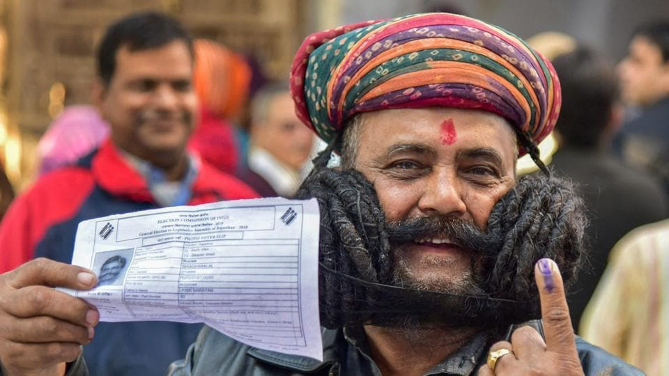 election results 2018,Assembly Election Results 2018,Rajasthan Election Resuts