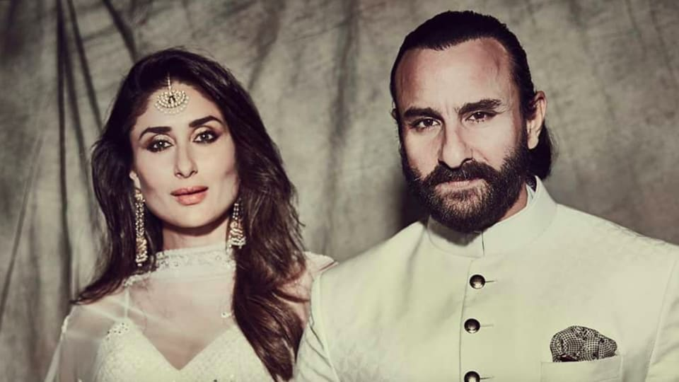 Not only did Kareena Kapoor and Saif Ali Khan's wedding ensembles look elegant and polished, they even matched.