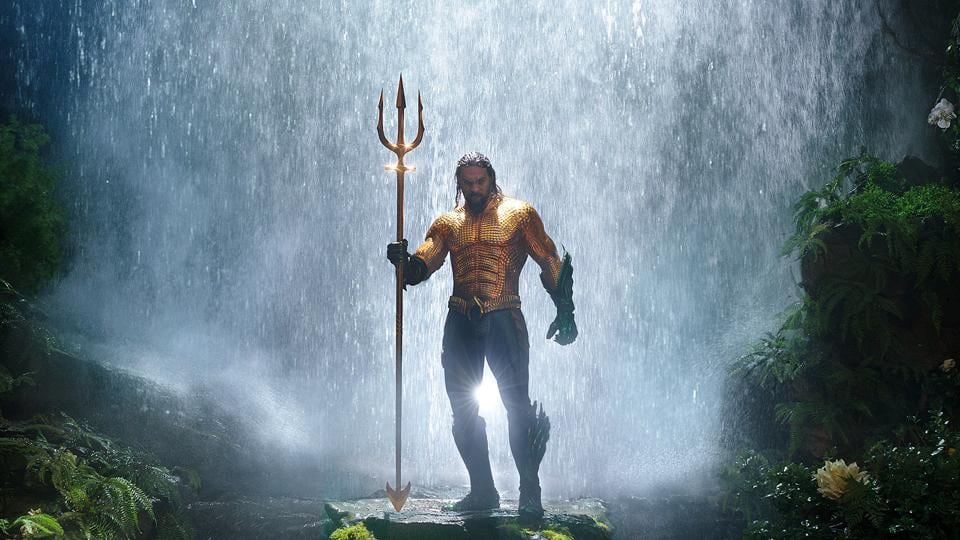 Jason Momoa plays the long-haired, beer-swilling Arthur Curry aka Aquaman.