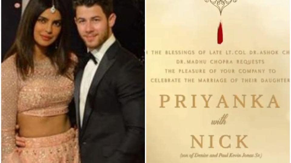 Priyanka Chopra and Nick Jonas will host a wedding reception in Mumbai onDecember 20.