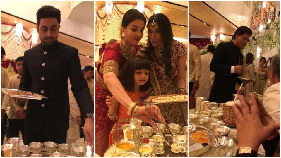 Abhishek Bachchan explains why Amitabh, Aishwarya, Shah Rukh served food to guests...