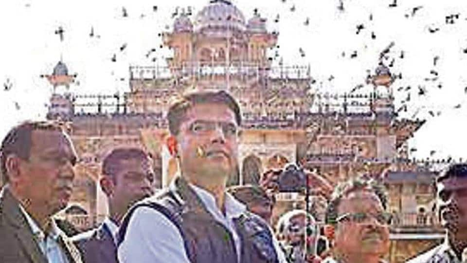 Jaipur's Albert Hall decked up for the swearing-in for Gehlot