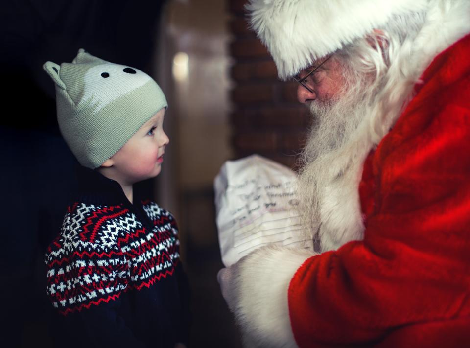 Children around the world stop believing in Santa Claus around the age of 8.