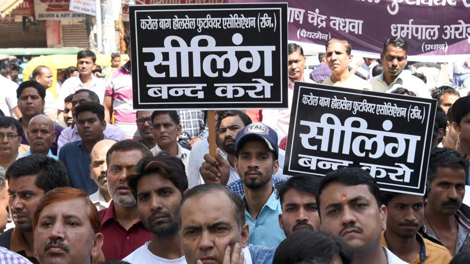 Traders in Delhi say the government should come out with an 'amnesty policy', giving them time to  make changes as per the new amendment.