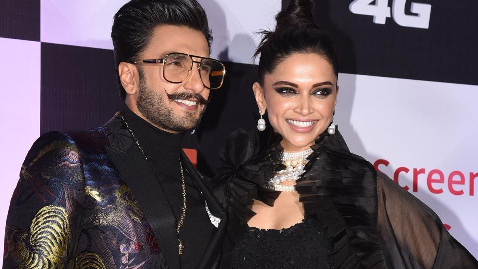 Deepika Padukone,Ranveer Singh,Star Screen awards 2018