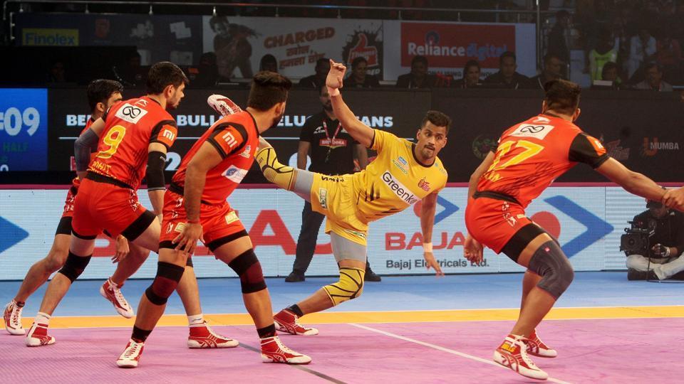 Pro Kabaddi League,Bengaluru Bulls,Telugu Titans