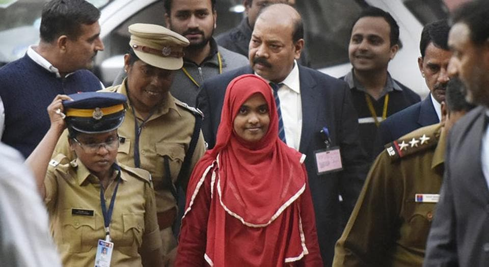 The father of Hadiya, a 26-year-old Kerala woman who converted to Islam and married a Muslim man against her parents' wishes, has joined the BJP.