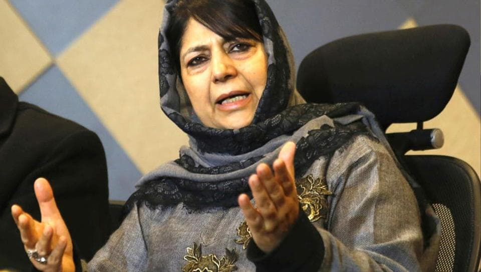 """Mehbooba Mufti on Monday said it was the """"best time"""" for India to hold talks with Pakistan as the neighbouring country's new Prime Minister Imran Khan is being touted as a """"proxy"""" for their army."""