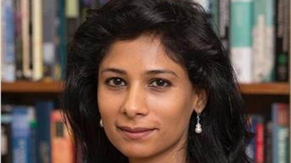 India-born Harvard professor Gita Gopinath, 46, is set to take charge as the chief economist at the International Monetary Fund (IMF) next month.