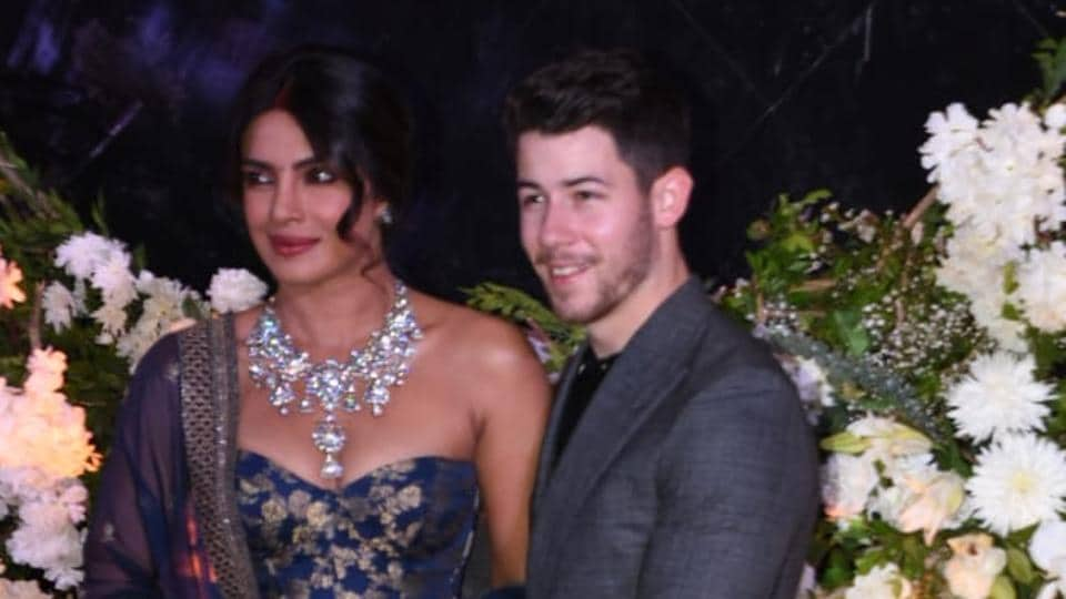 Priyanka Chopra Nick Jonas Mumbai Reception See First Images