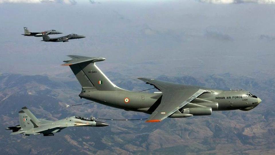 IAF generally moves 3,000 tonne a month, but during Exercise Bahubali, the IAF moved nearly 540 tonne in just six hours.