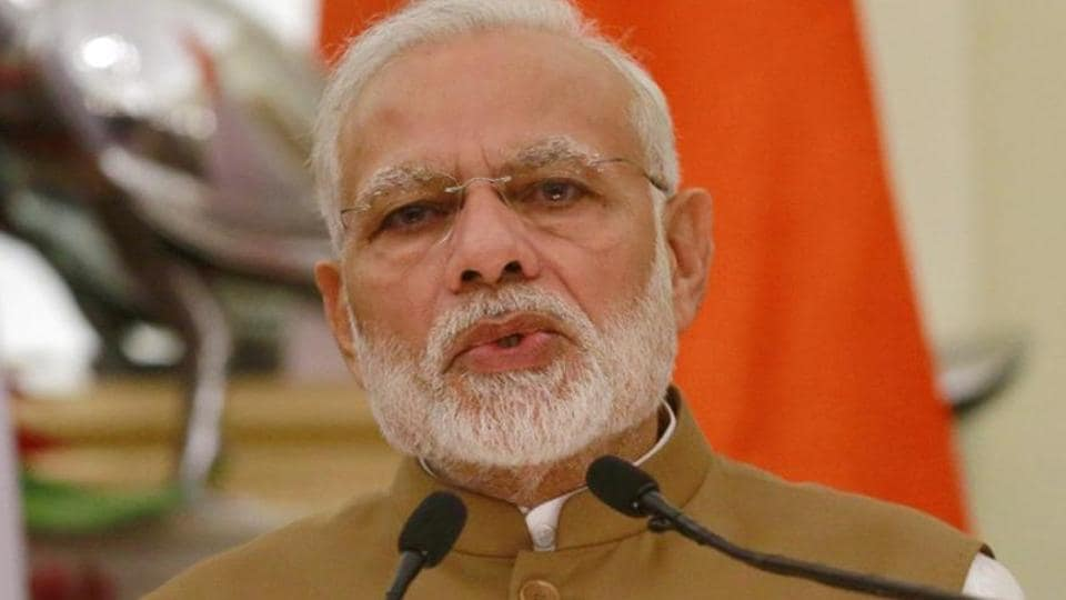 Prime Minister Narendra Modi was interacting with booth level workers of Vellore, Kanchipuram, Viluppuram and south Chennai districts of Tamil Nadu, and Puducherry, through video conferencing from New Delhi.