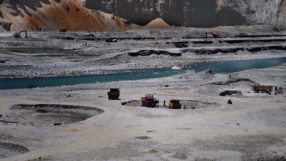uttarakhand,nandhaur river,quarrying on nandhaur river