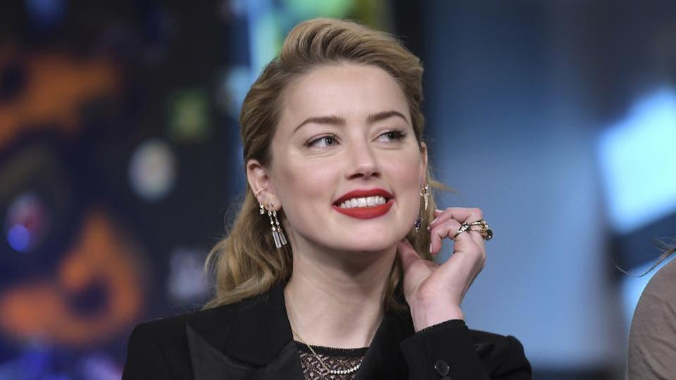 Amber Heard was recently seen in Aquaman.