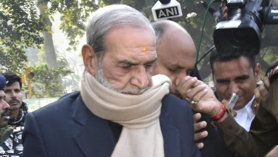 Former Congress leader Sajjan Kumar, who was convicted and sentenced to jail for the remainder of his life in a 1984 anti-Sikh riots case on December 17, has moved an application before the Delhi High Court seeking 30 days' time to surrender. The court is likely to hear his application tomorrow. Senior advocate HS Phoolka, who has been fighting the case for the victims of the victims, said that they will oppose Kumar's application. (PTI)