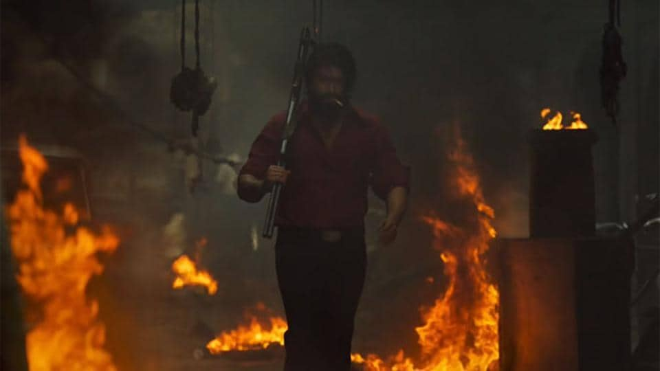 KGFChapter 1 movie review:  Yash plays the role of Rocky in this film set in the 1980s.