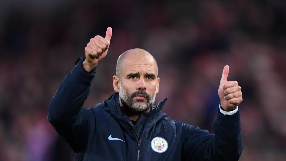 Pep Guardiola,Jurgen Klopp,Manchester City