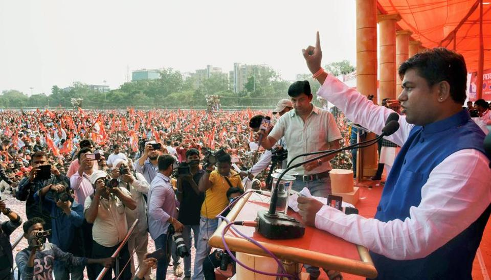 Sources said one Lok Sabha seat may go to Mukesh Sahni, a 38-year-old former Bollywood set designer who launched an outfit of his own, Vikasheel Insaan Party, last month.