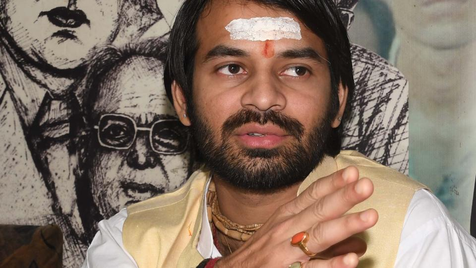 The Bihar government's move to oblige elder son of RJD chief Lalu Prasad comes in wake of his telephonic request to chief minister Nitish Kumar, when his written request for the same to the departmental minister did not evoke response.