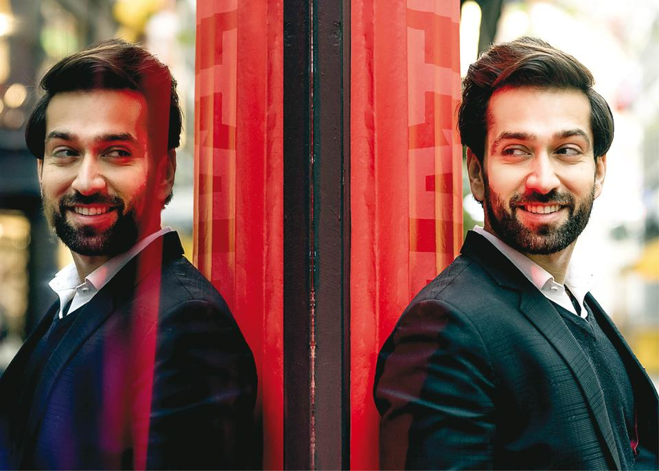 Nakuul Mehta is better known as Shivaansh Singh Oberoi to his fans! Styling,Victor Fernandes; Suit, Hugo Boss