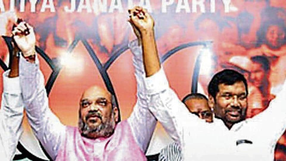 The Paswans held talks with BJP president Amit Shah.