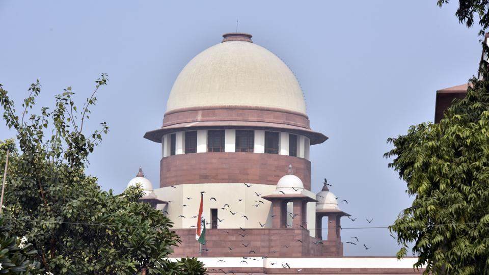 A view of Supreme Court during CBI case hearing in New Delhi on November 29.