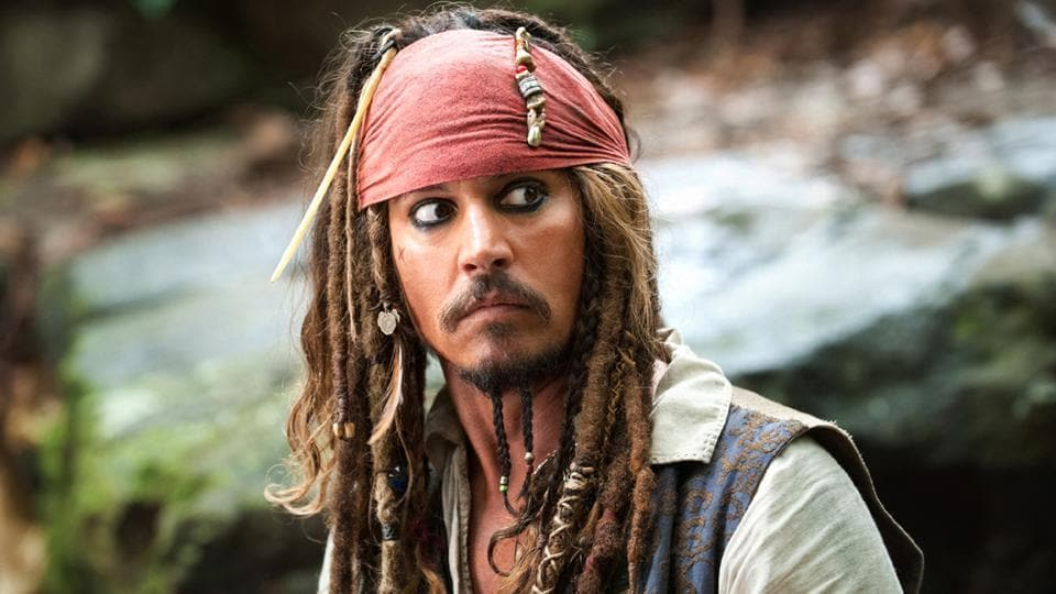 Johnny Depp played Captain Jack Sparrow for over 14 years in 5 films.
