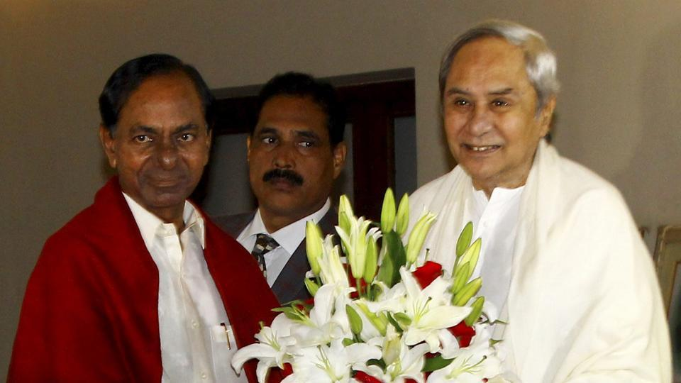 KCR,TRS,Third Front