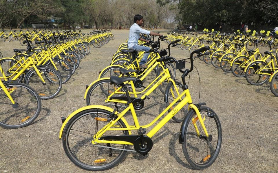 Inauguration of second phase of public Bicycle sharing (PBC) at SPPU  University.